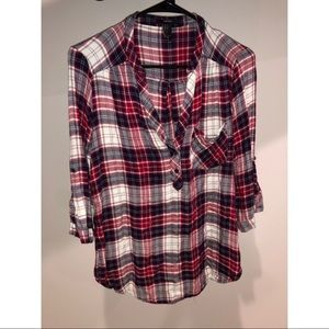 Forever 21 flannel blouse